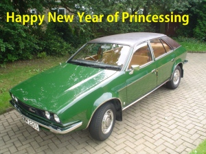Happy New Year of Princessing at the Crazymad Writer's blog