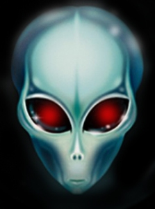 Aliens at the Crazymad Writer's blog